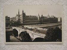 Vintage Postcard Le Pont au Change et al Conciergerie Real Photo C.A.P. Paris