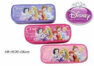 Disney Princess with Tangled Pencil Case Zippered Bag (BRAND NEW)