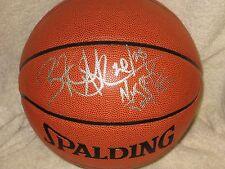 Bryant Stith Signed Basketball Virginia Cavaliers Denver Nuggets COA