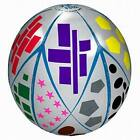 """Lot of 12 -Toss-N-Talk Colors, Numbers  Shapes Educational 24"""" Inflatable Ball"""