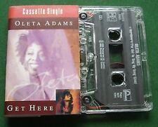 Oleta Adams Get Here Cassette Tape Single - TESTED