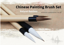 Artist Paint Brush Chinese Calligraphy Writing Set 4 Pieces Pen Watercolour