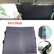 Retractable Car Auto Curtain Shade UV Protection Front Windshield Sun Visor