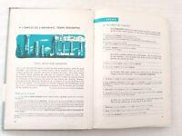 Ancien Livre Scolaire de GRAMMAIRE 3ème & Lettres 1966 F.Nathan