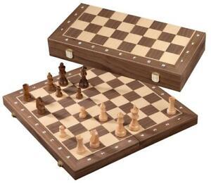 Schachkassette Staunton  Randbeschriftung Philos 2741 Angebot