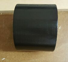 100mm X 50m - Strong black real Gaffer Tape Duct Tape (M)