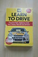 AA Learn to Drive 3 Book Box Set Practical Test Highway Code Theory