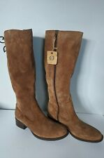 Born leather Cotto Brown Suede Knee High Riding Boots Women's Size 9 M US