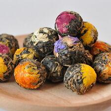Fait main en forme de boule Dianhong Fleurs Assorties Fleur Yunnan Thé Noir 18pc