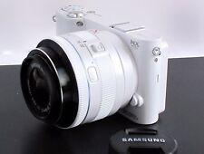 Samsung NX NX1100 20.3MP Digital Camera - White (Kit w/ 20-50mm f/3.5-5.6 Lens)