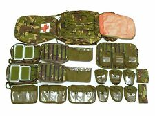 1990s/2000s British Army Rucksack Medical DPM Camouflage Pack Kit Complete New
