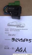 Isuzu Trooper Opel Monterey GM 94249675 Schalter Heckscheibenheizung Heizung NEU