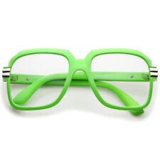 Gafas de sol de hombre verde cuadrados, con 100% UVA & UVB