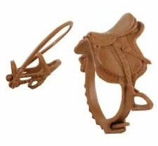 Schleich Saddle and Bridle Tack Set -  Brown
