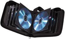 Hama CD-Tasche Wallet Etui Hülle schwarz 40 CDs Nylon Aufbewahrung Transport