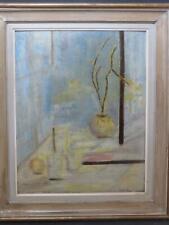 Brighton & Hove Art Exhibition Circa 1960 Modern British Oil by Letitia Adams