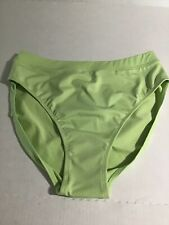 Newport News Shape fx Green High Waist Swim Bottom Size 12 NWT