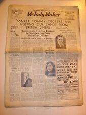 MELODY MAKER 1936 AUGUST 15 CUNARD SCYTHIA HENRY HALL PALLADIUM