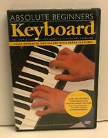 Absolute Beginners: Keyboard Step By Step DVD with book 2002