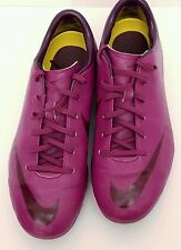 2013 Nike 509134-663 Mercurial Victory Pink / Red Kids Soccer Cleats Size 6Y US