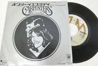 "CARPENTERS Vinyl JAPAN 7"" Used Record EP 4057"