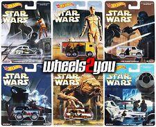 STAR WARS - Set of 6 - Hot Wheels Pop Culture REAL RIDERS Hauler BRONCO A100