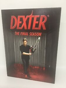 DEXTER- THE FINAL SEASON DVD Region 4 TV Show Very Good Condition FREE SHIPPING