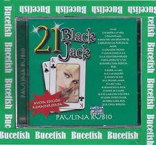 Paulina Rubio 21 Black Jack New Sealed Nuevo CD