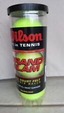 ( Lot Of 2 ) Wilson Grand Slam Tennis Ball Wrt1043 (3 Balls ) ideal for all cour