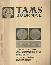 October 1976 TAMS Journal Token and Medal Society Magazine Book