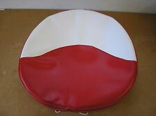FARMALL/ CUB/ C/ H/ M/ FERGUSON / NEW/RED & WHITE VINYL PAN SEAT COVER/#19-29-6