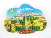 Salzburg Ansicht Magnet 3D Optik 7,5 cm,Souvenir Österreich,Neu