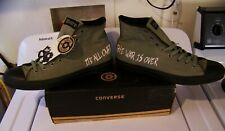 NEW Vintage THE DOORS Converse Chuck Taylor All-Star Shoes Sz 13 THE WAR IS OVER