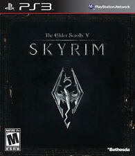 PS3 The Elder Scrolls V: Skyrim (PlayStation 3, Bethesda) *Original Print* - New