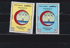 kuwait 1982 Sc 886/7 set MNH,world health day     j347