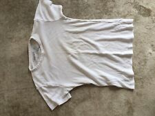 Mens New Look White T Shirt Size M