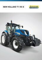 New Holland T7.165 S 01 /  2017 catalogue brochure Pologne Poland