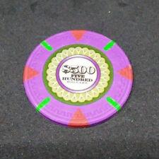 Sleepless 2017 $500 Casino Chip (1) Prop W/COA Jamie Foxx