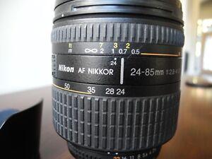 NIKON AF ZOOM NIKKOR 24-85mm 1:2.8-4 D Lens - NO RESERVE!