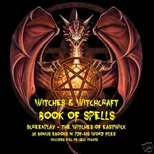CD - Witchcraft - The Book of Spells - 38 eBooks (Re-Sell)