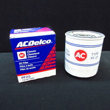 ACDelco PF25 Classic Style Oil Filter w/AC logo, GM 19187300