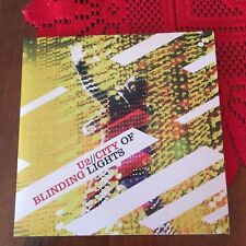 U2 – City Of Blinding Lights cardboard EU cd single Bono rock Ireland