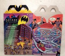 1993 BATMAN THE ANIMATED SERIES HAPPY MEAL BOX: (CATWOMAN) PRE OWNED