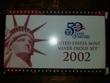 2002 US Mint Silver Proof Set with Box/COA - US Coins
