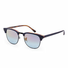 Ray-Ban para hombre RB3016-1278T651 de moda 51mm azul en la Habana gafas de sol Marco rojo