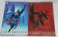 Superman For Tomorrow Vol. 1 & 2 HARDCOVER Lot Of 2 Books