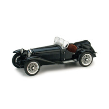 ALFA ROMEO 2300 1931 STRADALE NERO 1:43 Brumm Auto d'Epoca Die Cast Modellino