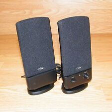 CA Cyber Acoustics Amplified Computer 2.0 Speaker System & Power Supply Bundle