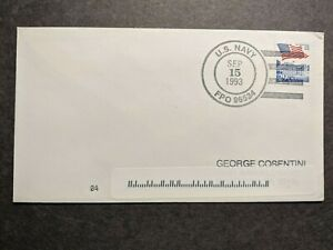 Naval FPO 96534 SINGAPORE 1993 Navy Cover