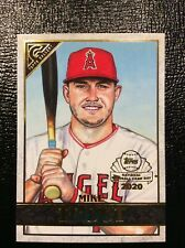 2020 TOPPS CHROME GALLERY PREVIEW INSERT SP MIKE TROUT LA ANGELS #GP1